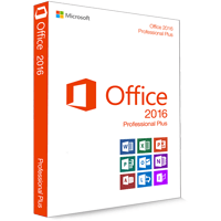 Microsoft Office 2016 Professional Plus 32/64 Bit - klucz produktu (Key)