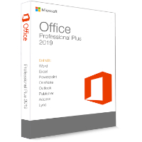 Microsoft Office 2019 Professional Plus 32/64 Bit - klucz produktu (Key)